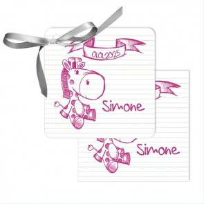 Doodle Baby Shower Favour Tags