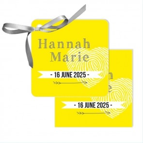 Sunshine Baby Shower Favour Tags