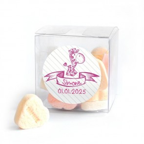 Doodle Baby Shower Candy Cube