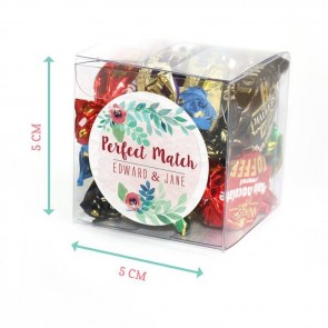 Peonies Fanfare Candy Cubes
