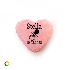 Dummy baby shower Candy Hearts
