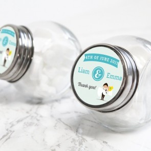 Wedding Couple Candy Jar
