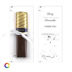 Classic Wedding Merci Wedding Chocolate Favour