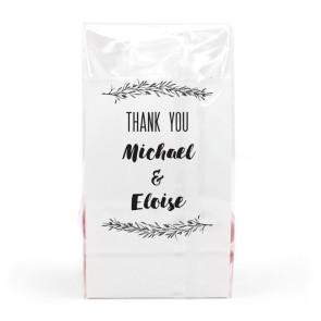 Mistletoe Clear Sweet Bags