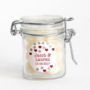 Confetti Weck Jar Wedding Favour