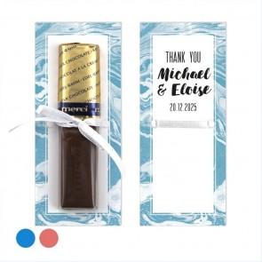 Lemon Merci Wedding Chocolate Favour
