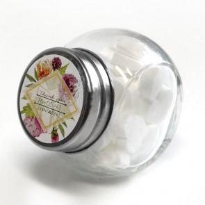 Floral Candy Jar wedding favour