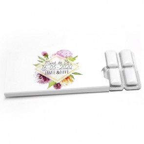 Floral Chewing gum