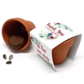 Rustic Garden Flower Pots