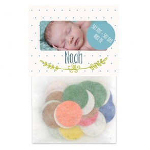 Flowerbags Sweet Ornament Baby Shower favours