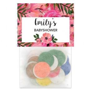 FlowerBomb Babyshower flowerbags