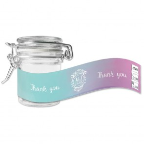 green weck jar favour Colourful Splash