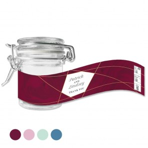 Green Weck Jar Lines Red