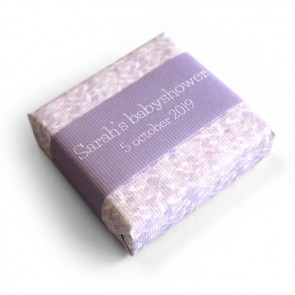 baby shower soap favour lavender