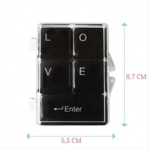 Create Your Own Love Keyboard Magnets