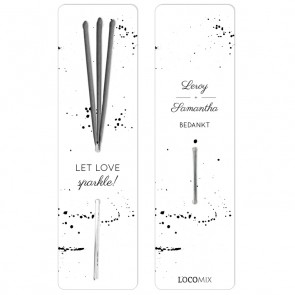 Wedding favour Sparklers Classic Wedding