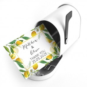 Create Your Own Mini Mail Box Favour Container