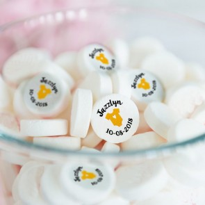Train Baby Shower Mints