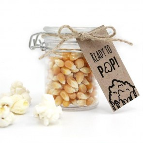 Pop It! Baby Shower Popcorn Weck Jar