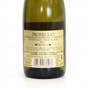 Green Leaf Prosecco Favour