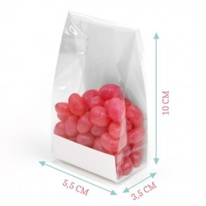Mistletoe Clear Sweet Bags
