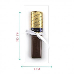 Minimal Blue Merci Chocolate