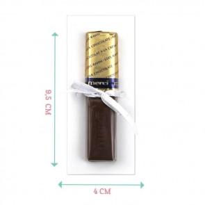 Bordeaux Paint Merci Chocolate Favour