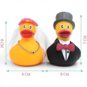 Craft Heart Rubber Ducks