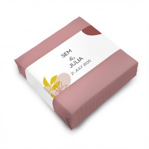 Wedding favour Soap Rusty Pink