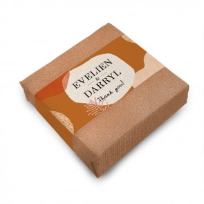 Wedding favour Soap Salted Caramel