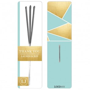Gold Foil Sparklers design