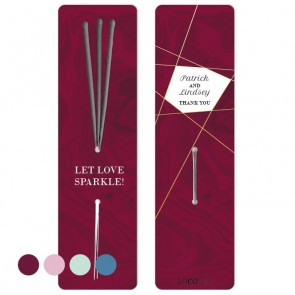 Wedding favour Sparklers Burgundy