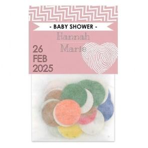 Sunshine design flowerbags baby shower