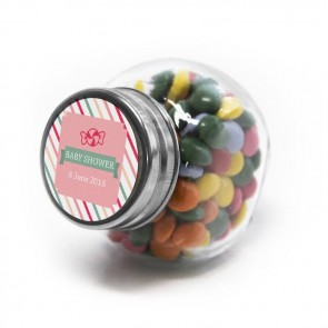 Sweet Candy Baby Shower Candy Jar favours
