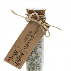 The Perfect Blend Herbal Gift Tubes wedding favours