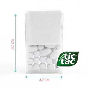 Create Your Own Tic Tac Favours