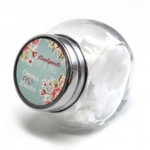 Candy Jar wedding favour Vintage Rose