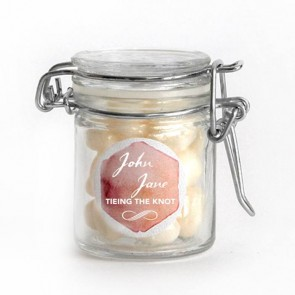 watercolour love weck jar