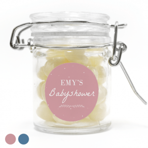weck jar baby shower favour Dreaming