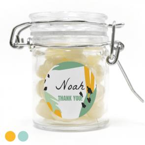 weck jar baby shower favour Memvis 1