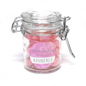 classic baby shower weck jar