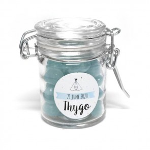 indian tipi weck jar favour