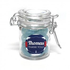 sailor weck jar baby shower favour