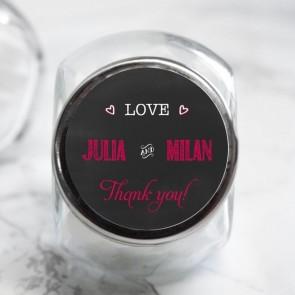 Chalk Candy Jar