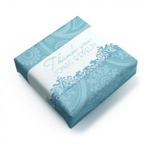 Wedding Favour Soap Paisley