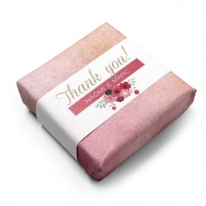 Wedding Favour Soap Pastel Flower
