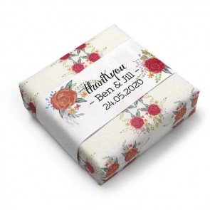 Wedding Favour Soap Peonies Fanfare