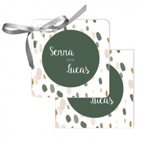 Blushed Design Wedding Tags