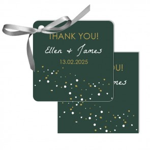Quiet Clearing  Wedding Tags wedding favours