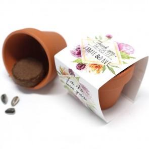 Floral Flower Pots